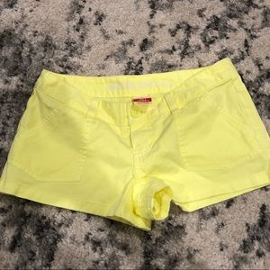 Bright Yellow Mossimo Shorts. sz3